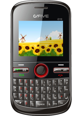 Gfive I310 Price &#8211; Gfive I310 Mobile Features