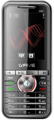 Gfive D80 Price &#8211; Gfive D80 Mobile Features
