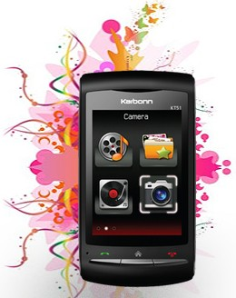 Karbonn KT51 Price &#8211; Stylish ID Touchscreen mobile